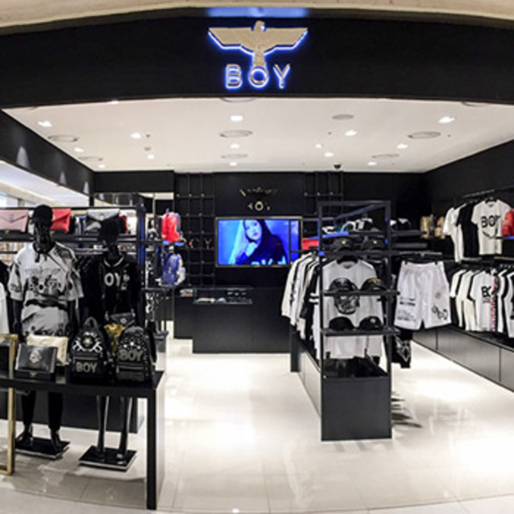 BOYLONDON THE SHILLA DUTYFREE STORE OPEN
